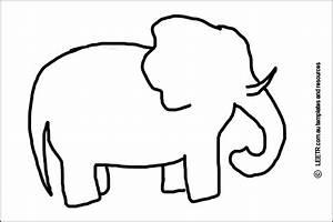 elephant stencil craft ideas pinterest elephant With elephant template for preschool