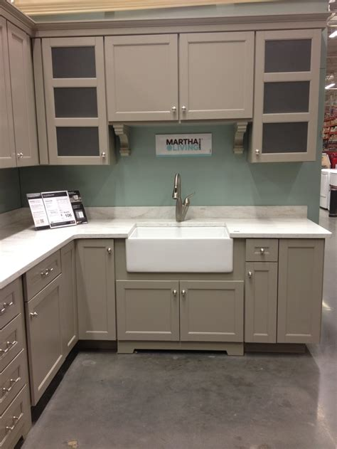 Martha Stewart Kitchen Display @ Home Depot  House And