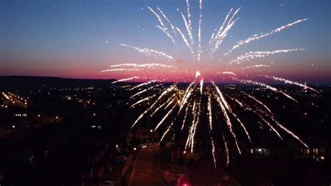mavic mini canada day fireworks  milton youtube