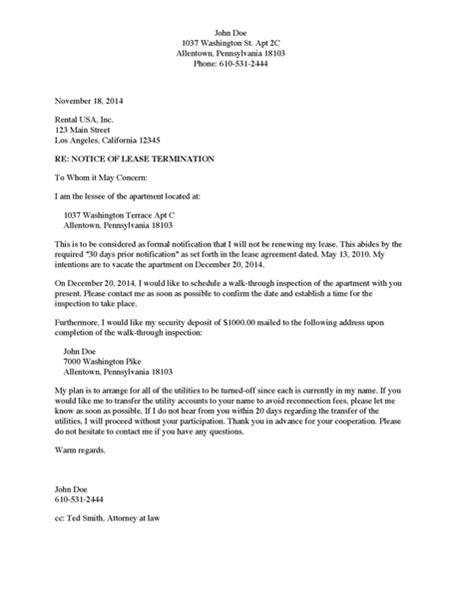 divorce source notice  lease termination home