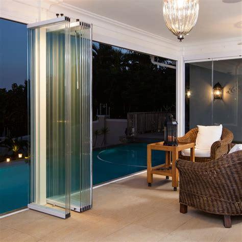 lanai sliding glass doors custom accordion doors wall of