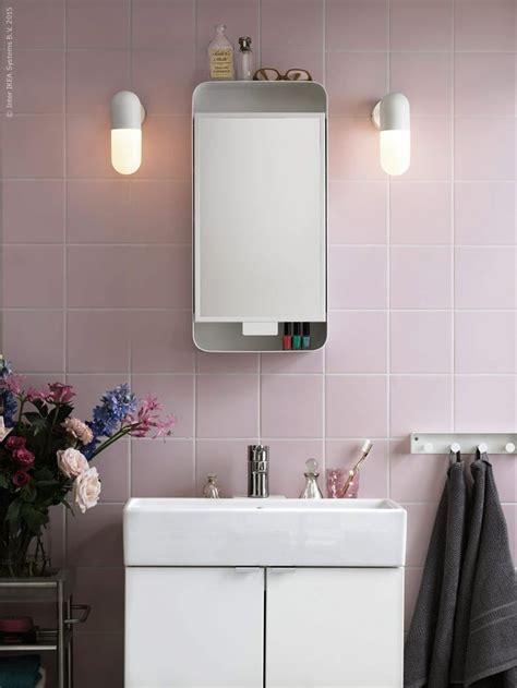 Ikea Mirrors Bathroom by Ikea Gunnern Mirror Cabinet Bathroom Pink Ikea S Finest