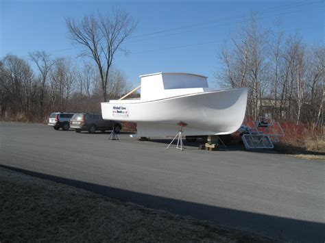 Downeast Boat Design by New Mitchell Cove 32 Downeast Kit The Hull