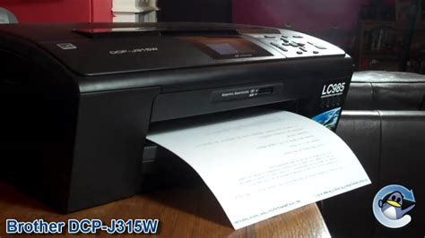 brother dcp jw printer review youtube