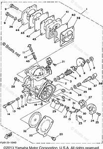 Yamaha Waverunner Parts 1992 Oem Parts Diagram For
