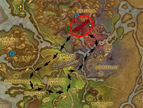 valsharah herb gathering route rpgtutor wow gold guide