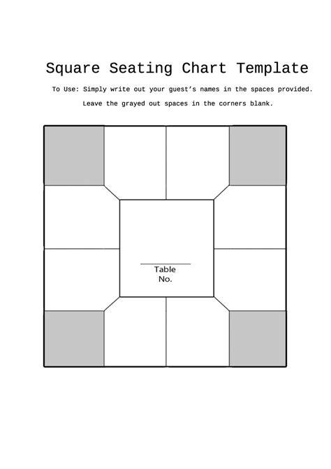 great seating chart templates wedding classroom