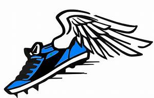 Running Shoes With Wings - ClipArt Best