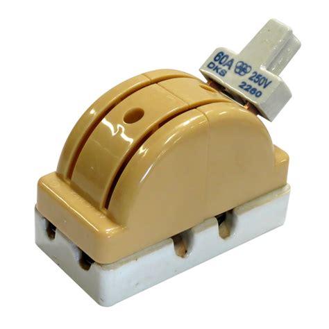 interruptor de palanca doble tiro 2 polos x 60 erios interruptores industriales