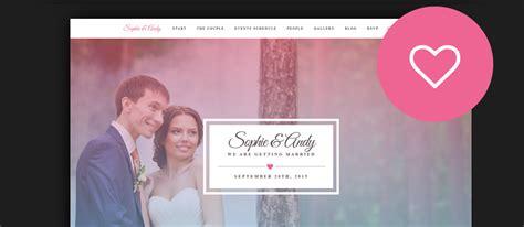 Wedding Website Templates 60 Best Html Wedding Website Templates 2017