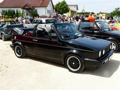 golf 1 cabrio sportline vw golf 1 cabrio sondermodell sportline beim oldtimertreffen 2012 in tannhausen fahrzeugbilder de