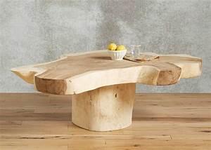 Live-Edge Coffee Table @ Wood-Furniture biz