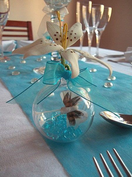 decoration de table papillon d 233 coration de table th 232 me papillon bleu 17 table deco communion papillons