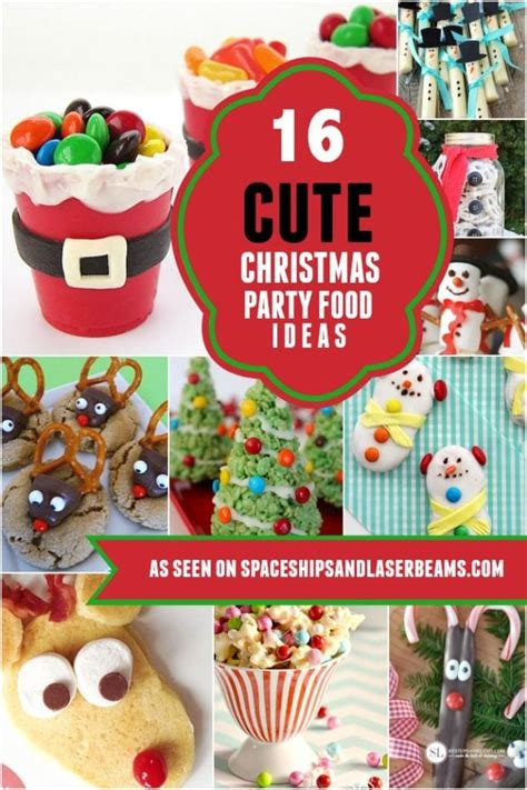 cute christmas party food ideas kids  love