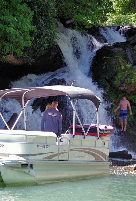 lake glenville north carolina  waterfalls
