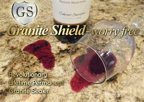 granite shield lifetime sealer
