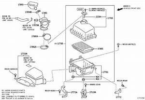 Toyota Camry Engine Air Intake Hose  Hose  Air Cleaner  No