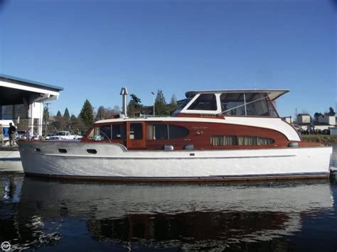 Vintage Boats For Sale Seattle by 1949 Chris Craft 46 Cabin Flybridge Seattle Wa For