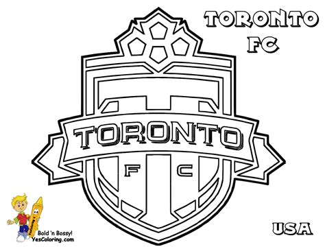 Toronto Maple Leaf Emblem Free Coloring Pages