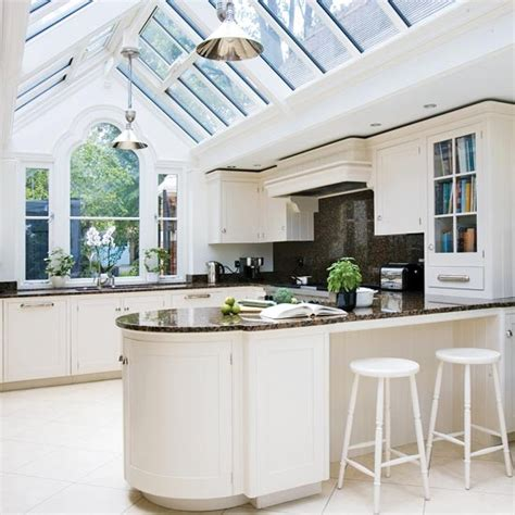 Gabled Conservatory Extension  Kitchen Extensions