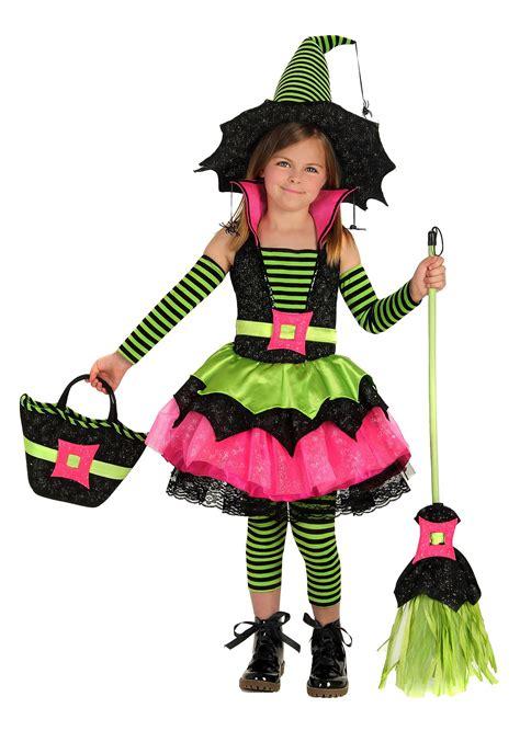 child spiderina witch costume