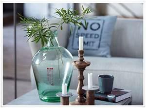 Jarre En Verre : cette magnifique jarre en verre recycl bien pais nous s duit par ses formes g n reuses et par ~ Teatrodelosmanantiales.com Idées de Décoration