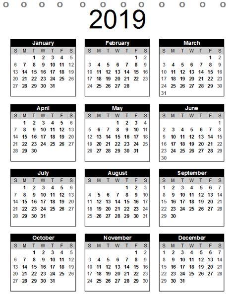 calendar year portrait desk calendar printable
