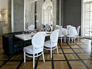 Sedia classica imbottita, per sale da pranzo e ristoranti di lusso IDFdesign