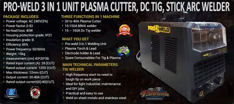 main technical parameters plasma cutter