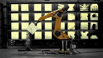 Robot Arm Industrial Build Let Furniture Tr