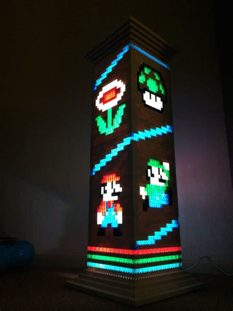 mario brothers lego l is a classy gamer night light
