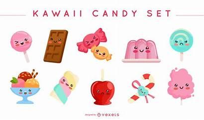 Kawaii Candy Vector Vexels Vectors Sugar Town