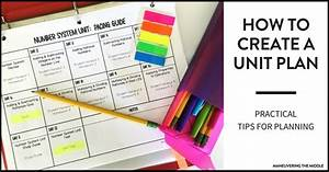 How, To, Create, A, Unit, Plan