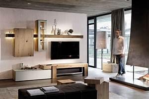 Wohnwand Weiß Mit Holz : wohnwand design holz ~ Bigdaddyawards.com Haus und Dekorationen