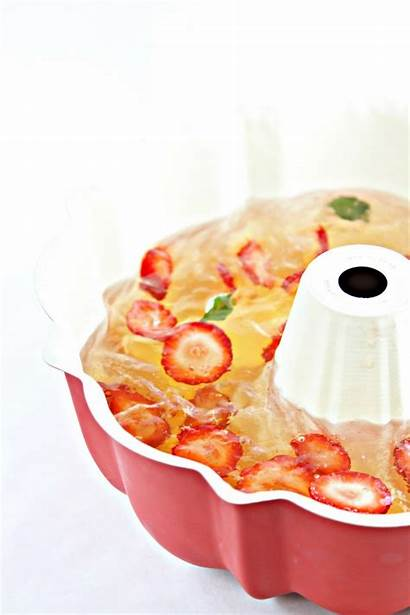 Gelatin Molds Strawberry Sparkling Champagne Mold Yeah