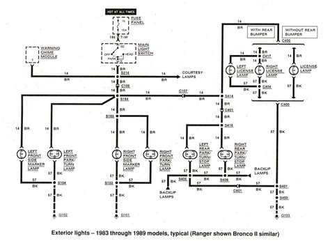 Free Auto Wiring Diagram Ford Ranger Exterior