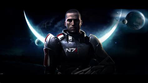 Halo 3 Wall Paper Mass Effect 1 Shepard Wallpaper 1177903