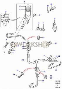 Clutch Master Cylinder  U0026 Pipes