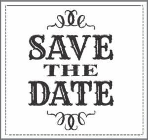 Free Save The Date Clipart Clipartix
