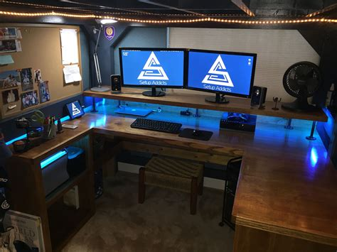 Diy Computer Desk Ideas Space Saving (awesome Picture