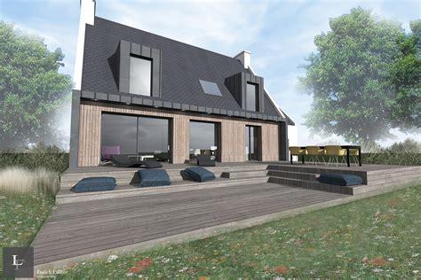 Maison Lr  Renovation D'une Maison Neobretonne Sarzeau