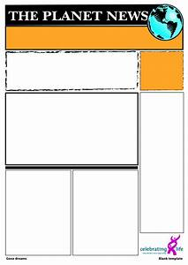 Best Photos of Blank Newspaper Template For Word - Blank ...