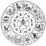 Coloring Zodiac Signs Astrology Pages Astrologie Coloriage Therapy Adult Colouring Sign Horoscope Cancer Scorpio Printable Virgo Astrological Aries Symbol Symbols sketch template