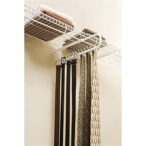 tie rack walmart rubbermaid sliding tie and belt rack walmart
