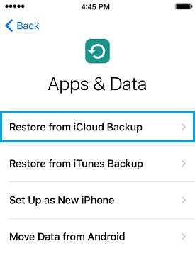 what is data on iphone how to restore iphone from itunes or icloud backup