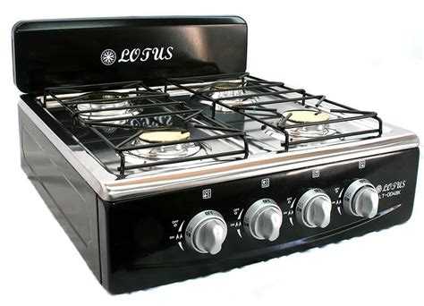 propane countertop stoves 4 burner gas stove range propane kitchen patio cooktop