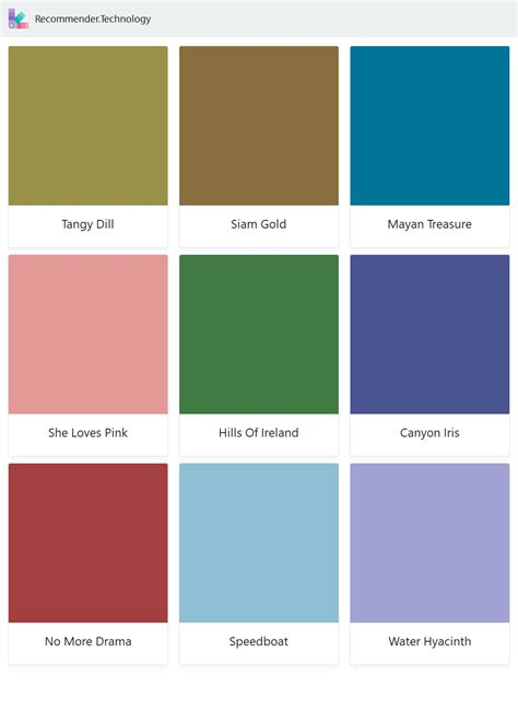 Pin on 2018 - Behr Paint Color Palettes