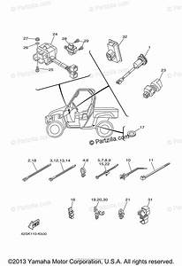 Yamaha Side By Side 2011 Oem Parts Diagram For Electrical