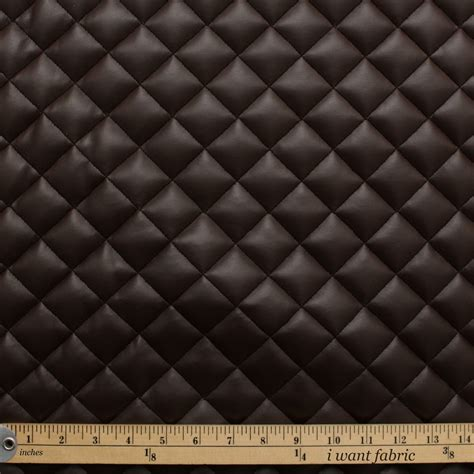 Leather Re Upholstery by Quilted Leather Padded Cushion Faux Leather