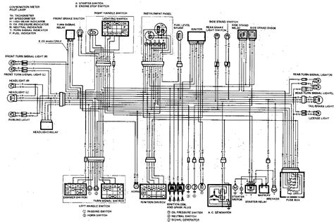 89 Yamaha Virago Wiring Diagram by 1989 Gsxr1100 Wiring Diagrams Diagnose And Troubleshoot